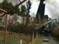 İran'da uçak düştü