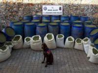 Bingöl'de 2018 de 3 ton 400 kilogram uyuşturucu yakalandı