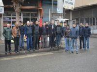 3 gündür elektriksiz olan mahalleli DEDAŞ'a tepki gösterdi