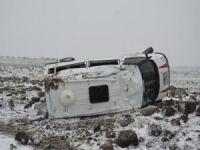 Şanlıurfa'da öğretmen servisi kaza yaptı