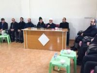 HÜDA PAR Genel Başkanı Sağlam'dan Fidancı ailesine taziye ziyareti