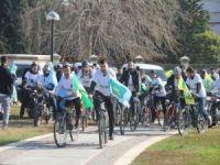 HÜDA PAR Adana İl Başkanlığından Doğu Türkistan için bisiklet turu