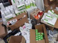 449 bin kaçak tıbbi ilaç ele geçirildi