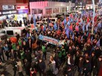 İstanbul'da halk Doğu Türkistan için yürüdü