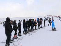Bingöl Hesarek Kayak Merkezi'ne bir ayda yüzbinden fazla ziyaret