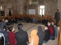Cami ve mahalle temsilcisi çocuklar manevi eğitim görüyor