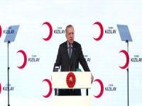 """Erdoğan: """"İhtiyaç sahiplerin inancına, diline, ten rengine bakmıyoruz"""""""
