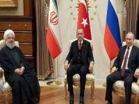 Erdoğan, Ruhani ve Putin bugün Suriye'yi görüşecek