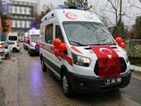 Diyarbakır'a 4 yeni ambulans tahsis edildi