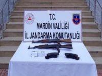 Mardin'de uzun namlulu silahlar ele geçirildi