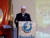 """Yaçin: """"Zalimler sloganlarla değil İslam'ı yaşamakla kahrolurlar"""""""
