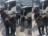 Eylem hazırlığında olduğu belirtilen 57 şüpheli gözaltına alındı