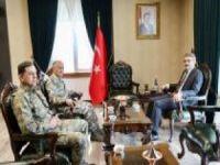 Korgeneral Erbaş'tan Vali Ekinci'ye ziyaret