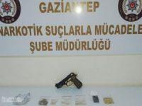 Gaziantep'te uyuşturucu operasyonu: 9 gözaltı