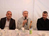 İttihad-ul Ulema'dan Muhammed Emin Yıldırım'a taziye ziyareti