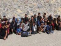 109 düzensiz göçmen yakalandı