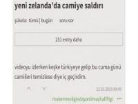 Cami katliamını öven Ekşi Sözlük yazarı tutuklandı