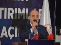Sanayi ve Teknoloji Bakanı Varank Siirt'te