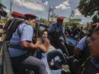 Nikaragua'da da tansiyon yükseldi: 100 gözaltı