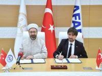 Diyanet ile AFAD arasında işbirliği protokolü imzaladı