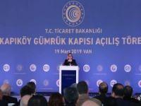 Kapıköy Gümrük Kapısı açıldı