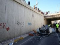 Diyarbakır'da feci trafik kazası: 2'si çocuk 4 yaralı