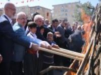 Mardin'de newroz kutlaması