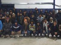 Van'da 40 göçmen yakalandı