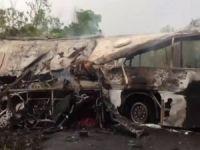 Gana'da iki otobüs çarpıştı: 60 ölü