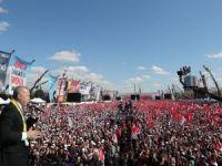 Cumhurbaşkanı Erdoğan, Büyük Ankara Mitingi'nde konuştu