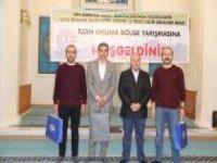 """""""Genç Bilaller Ezanı Güzel Okuma"""" yarışması bölge finali Bitlis'te yapıldı"""