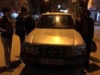 Qamışlı'dan gelen mermi Nusaybin'de arabaya isabet etti