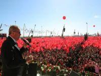 """Erdoğan: """"Yenikapı ruhu, İstanbul'u fethedip bize emanet eden ruhun devamıdır"""""""