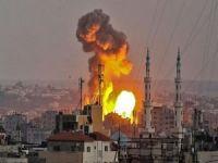 İşgalci çeteler Gazze'e saldırıyor