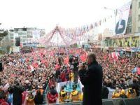 """Erdoğan: """"Sadece yıkmayı vaat ediyorlar, yapmayı değil"""""""