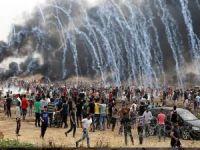 İşgalciler Dönüş Yürüyüşü Gösterilerine ateş açtı: Bir şehid 30 yaralı