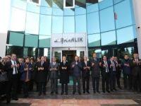 Belediye başkanı Tahmazoğlu, mesaiye dualarla başladı