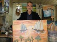 Suriyeli ressam: Savaş hayallerimi yok edemedi