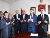  Bingöl Belediye Başkanlığına seçilen Arıkan görevine başladı