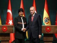 """Erdoğan: """"Bolivya'nın Filistin davasına verdiği desteğe teşekkür ediyoruz"""""""