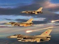 Karacak Bölgesi'ne geniş kapsamlı hava harekâtı
