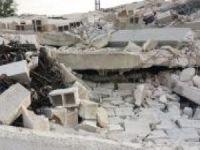 İki katlı inşaat çöktü: 1 ölü 4 yaralı