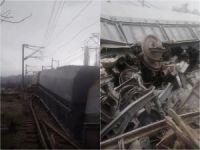 Malatya'da tren kazası