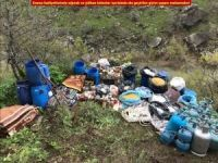PKK'ya ait 9 sığınak imha edildi
