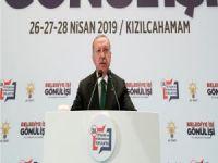 """Erdoğan: """"AK Parti ve Cumhur İttifakı'nın tartışılmaz bir başarısı vardır"""""""