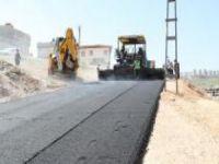Şahinbey'de asfalt çalışması