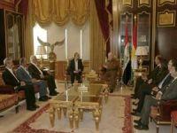 HÜDA PAR Genel Başkanı Sağlam, Barzani ile görüştü