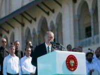 """Erdoğan: """"Camiler birlik ve beraberliğimizin çimentosudur"""""""