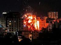 Siyonistler AA'nın Gazze'deki bürosunu bombaladı