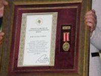 Devlet Övünç Madalyası iftar programında takdim edildi